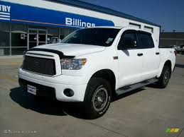 toyota billings 2010 super white toyota tundra trd rock warrior crewmax 4x4