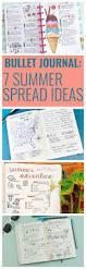 7 summer spread ideas for bullet journals mom spark mom blogger