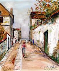 bureau de change montmartre 36 best maurice utrillo images on on canvas