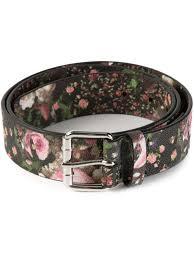floral belt lyst givenchy floral belt in black for men
