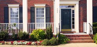 brick house front door how to improve home curb appeal today s homeowner