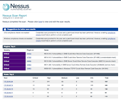 new nessus targeted email notifications and monitoring
