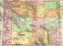 Historical Maps Wyoming Homesteading Wyoming Historical Maps