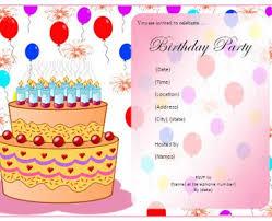 birthday invitation card birthday invitation ideas