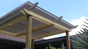 Louvered Roof Pergola by C U0026n Services Adjustable American Louvered Patio Roof Youtube