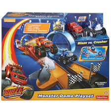 blaze monster machines monster dome playset toys