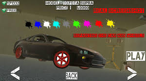 toyota supra drift drift x real drift racing android apps on google play