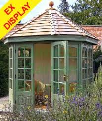Gardens With Summer Houses - summer houses greenhouses garden sheds and log cabins