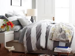 White Stripe Duvet Cover Grey White Stripe Duvet Cover Sweetgalas