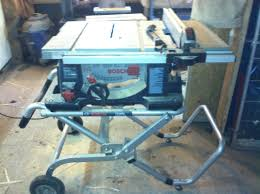 Bosch Table Saw Review by Bench Saw Reviews Allen U0027s Woodworking