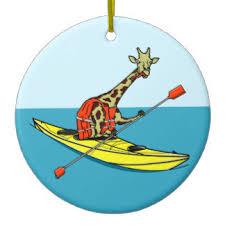 sea kayak ornaments keepsake ornaments zazzle