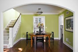 impressive green paint colors decorating ideas with white wood