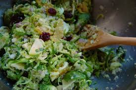 brussel sprouts for thanksgiving shredded brussel sprout and quinoa salad
