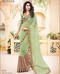 buy charming pista green wedding saree amh8723 at 420 38 zar