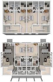 Floor Plans For Duplexes 3 Bedroom Arlington Lsu Off Campus 3 Bedroom Student Duplex Apartments For Rent