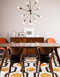 mid century modern dining room table and chairs trend alert mid