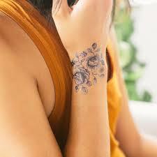 beautiful wrist tattoos rose design idea for men and women