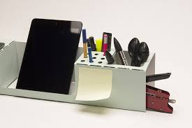 Desk Organizer Org A Folded Durable Lightweight Laser Cut Desk Organizer