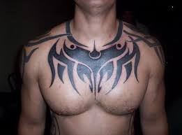 knot tribal tattoos on upper arm chest rincyhdtattoo pinterest