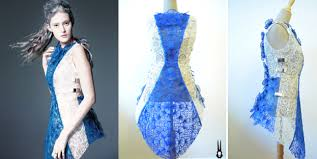 3doodler create 3d printing pen incredible dress 3d printed with the 3doodler pen by fashion house