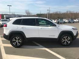 2016 jeep grand cherokee trailhawk used 2016 jeep cherokee trailhawk in berwick used inventory