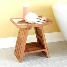 Teak Benches For Bathrooms Bath Bench Wood Teak Shower Bench Furniture For A Cozy Home Feel