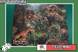 the lost world jurassic park friday night game night u2013 the lost world puzzle