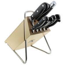 1a neuware wmf spitzenklasse plus 9 piece knife set knife block