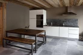 cuisine ardoise mur ardoise cuisine finest best cuisine mur brique blanc