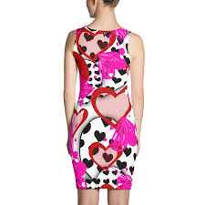 valentines day dress heart dress valentines day costume red