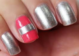 diywhynot diy tweed nail art and v french tips youtube how to