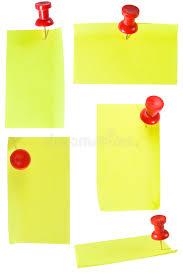imagenes de notas rojas notas rojas de pinand foto de archivo imagen de oficina 12494072