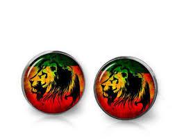 reggae earrings etsy