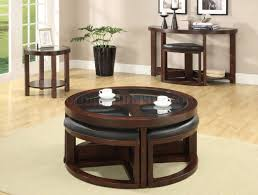 cm4321 crystal cove ii coffee table in dark walnut w options