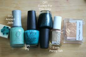 manicurity the digit al dozen cuprum texture nail art