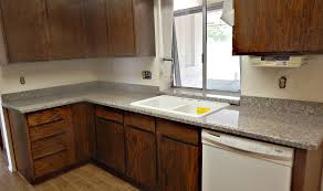 granite countertop replacement of kitchen cabinet doors copper