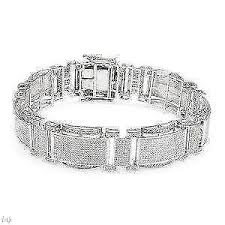 bracelet diamond ebay images Diamond bracelet tennis bangle black women 39 s ebay JPG