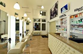 Mini Reception Desk Fascinating Ideas For Hair Salon Design Layout With Modern