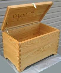 Wooden Toy Box Plans by Free Wood Box Plans How To Build A Wooden Box