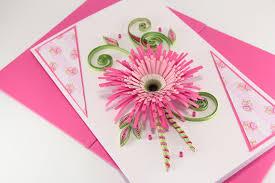 birthday card for girlfriend beautiful handmade quilling