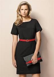 biz corporate sleeve shift dress 34012 newcastle