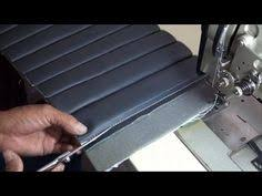 Diy Motorcycle Seat Upholstery Auto Upholstery Basics Blind Stitches Foamed Channels Tutorial