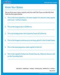 know your states u2013 download free printable worksheets on fifth