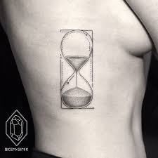 geometric line and dot tattoos by turkish artist prove less is