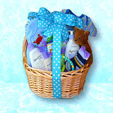 baby shower baskets baby shower baskets for boys baby boy gift basket in blue