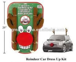 reindeer antlers for car reindeer antlers and nose car decoration buy christmas reindeer