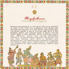 South Indian Wedding Invitation Cards Designs South Indian Kalamkari Inspired Wedding Program Detail Page