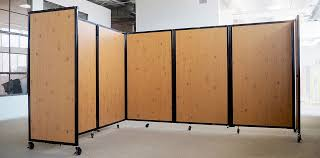 room dividers partitions on wheels 7ft tall portable divider