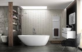 wallpaper interior bath bathroom modern the project chair