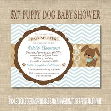 country themed baby shower invitations puppy baby shower invitations u2013 gangcraft net
